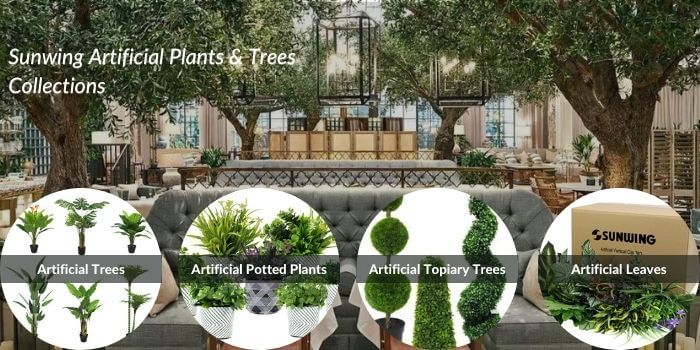 Sunwing artificial plants & trees collections
