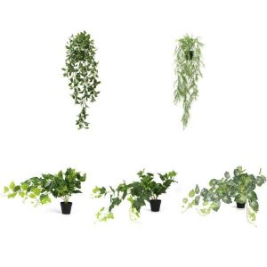 Sunwing artificial potted hanging plants