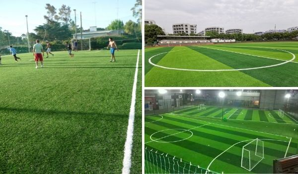 artificial grass for sports cases