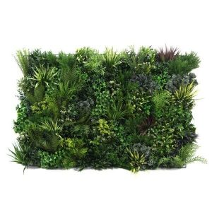 artificial plant wall panel for landscaping