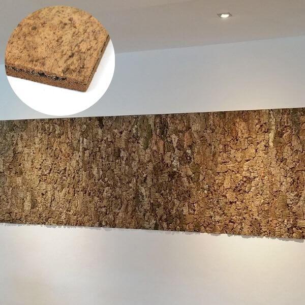 bespoke interior cork wall tiles
