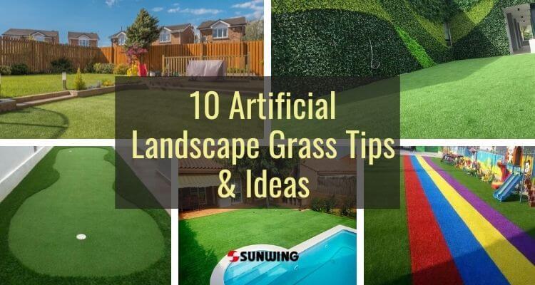10 artificial landscape grass tips & ideas