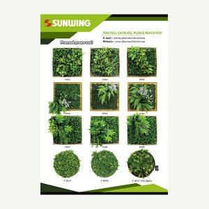 Artificial Green Wall Frames Catalog