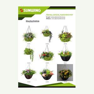 Artificial Hanging Basket Catalog