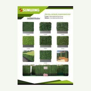 Artificial Hedging Planters Catalog