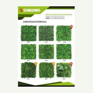 Artificial Plant Wall Catalog