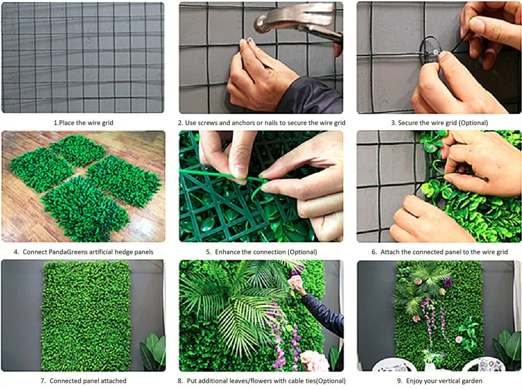 Artificial Plant Wall Installation