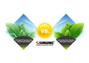 Sunwing UV protected faux plants