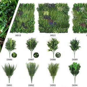 artificial green walls for wholesale
