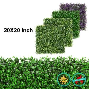 artificial hedges for wholesale with artificial landscape grass