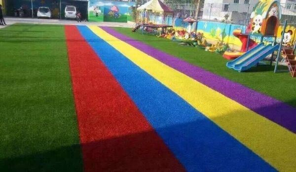 artificial landscape grass for kids playing