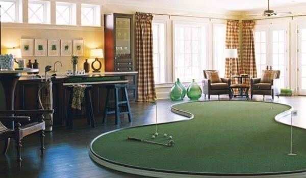 residential synthetic putting green