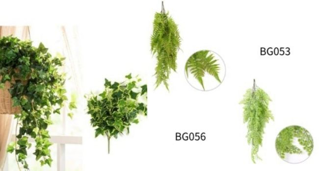 tips for artificial hanging plants decor