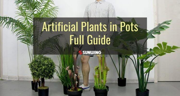 all you need to know about artificial plants in pots