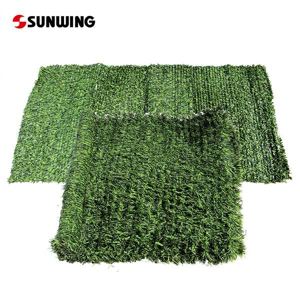Artificial Grass Fence