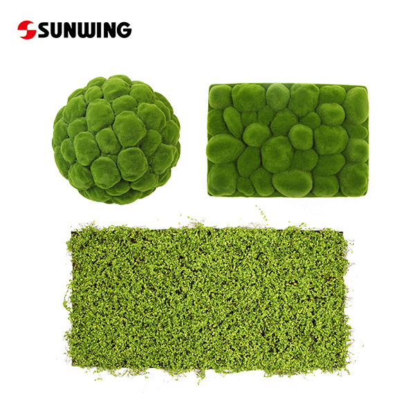 Lifelike Artificial Moss Supplier in China