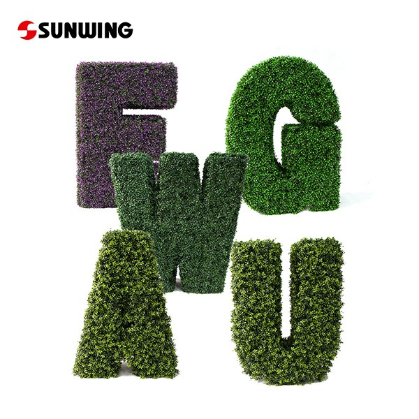 Topiary Letters