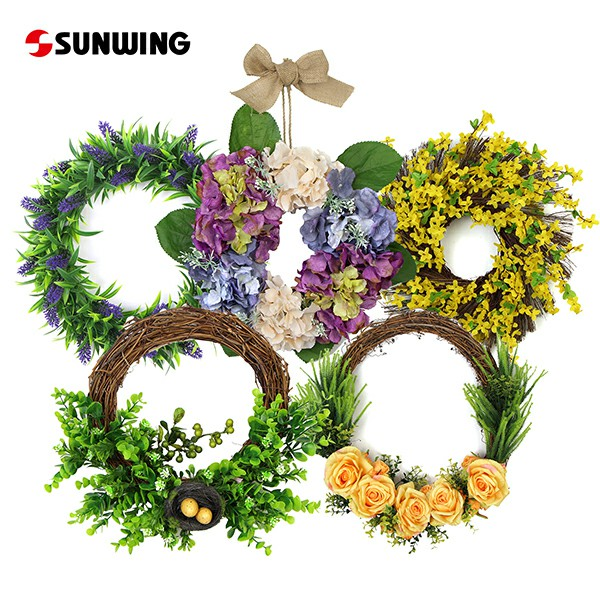 Artificial Flower Wreath Wholesale China