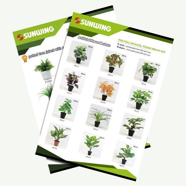 silk plant in pot bulk wholesale