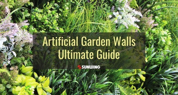 ultimate guide to artificial garden walls