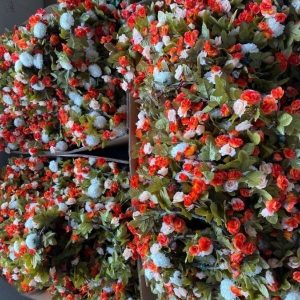 Vintage Fake Flowers wreaths