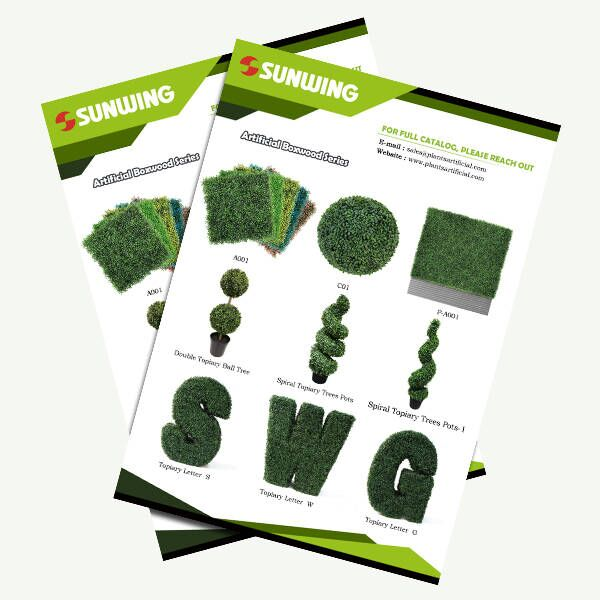 artificial boxwood balls mats trees and topiaries supplier