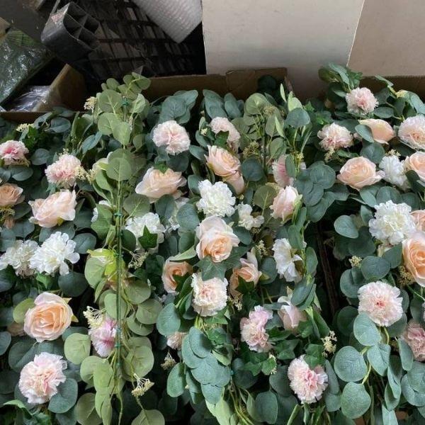 faux floral wreaths wholesale
